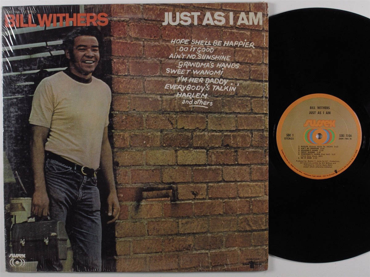 Обложка альбома Bill Withers «Just As I Am» (1971)
