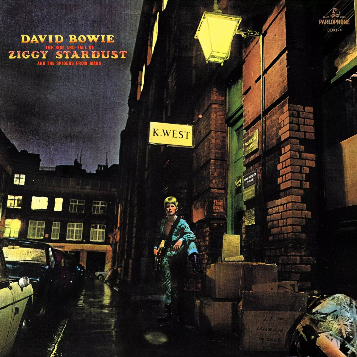 Обложка альбома Дэвида Боуи The Rise And Fall Of Ziggy Stardust And The Spiders From Mars