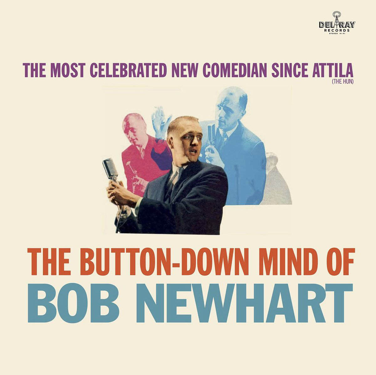 Обложка альбома «The Button Down Mind Of Bob Newhart» (1960)