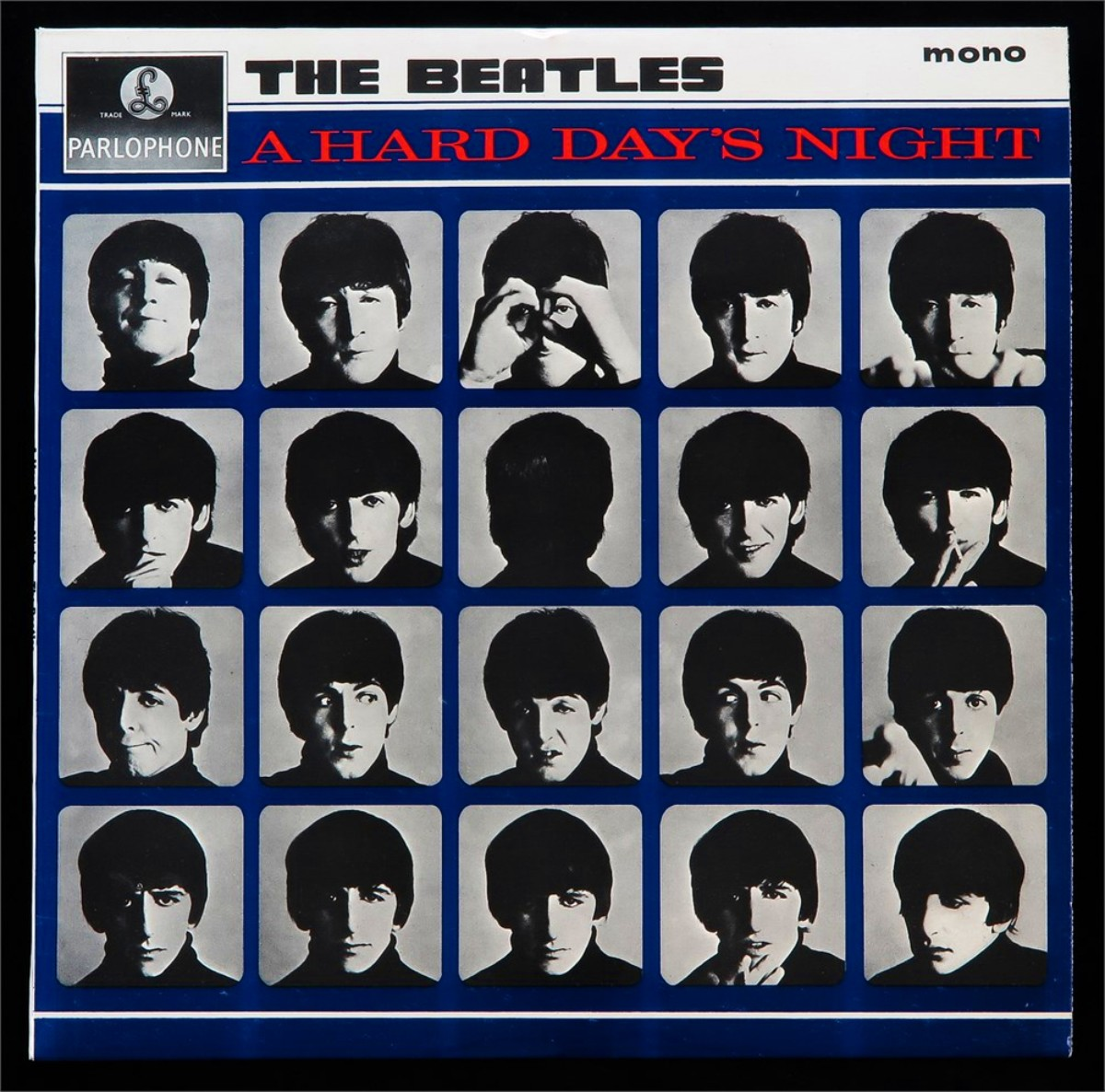 The Beatles, «A Hard Day's Night» (обложка альбома)