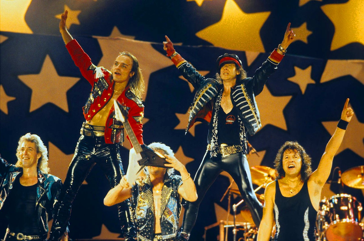 Moscow Music Peace Festival (1989), Scorpions